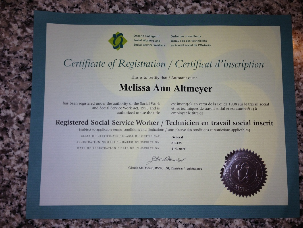 certifications melissa altmeyer create a website